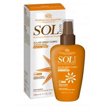 SUN PROTECTION BODY SPRAY  SPF20