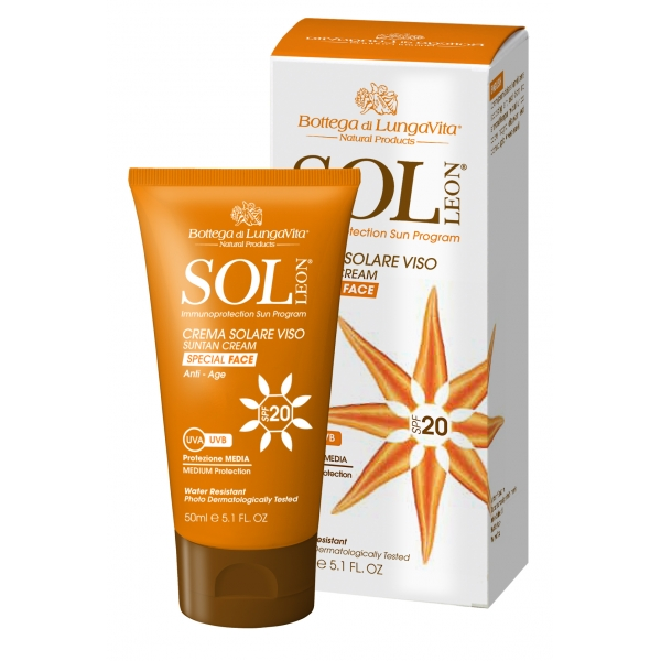 SUN PROTECTION FACE CREAM SPF20